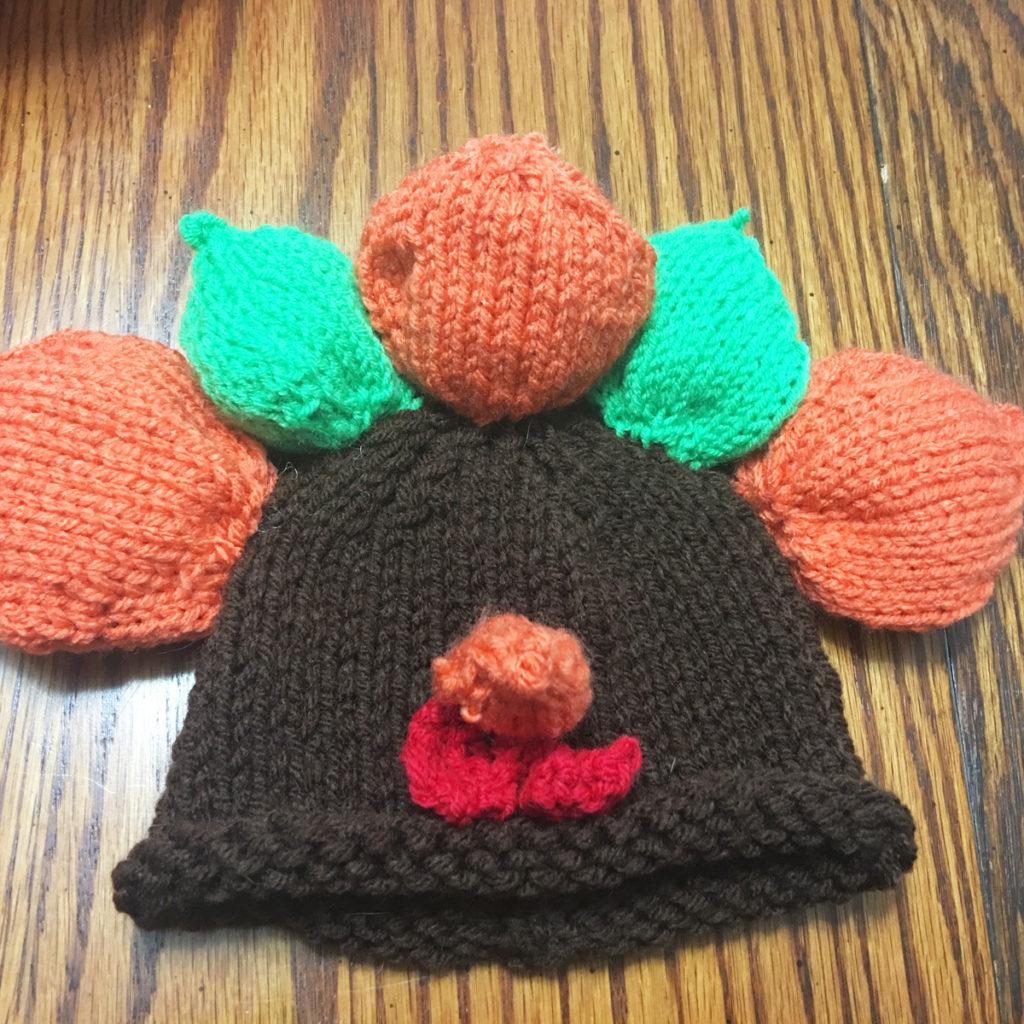 Infant Turkey Hat