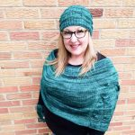 Women's Knit Poncho