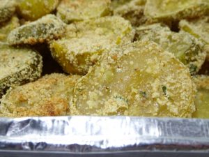 Vegan Fried Pickles