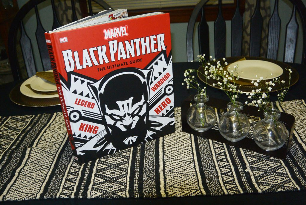 Black Panther Themed Dinner Party